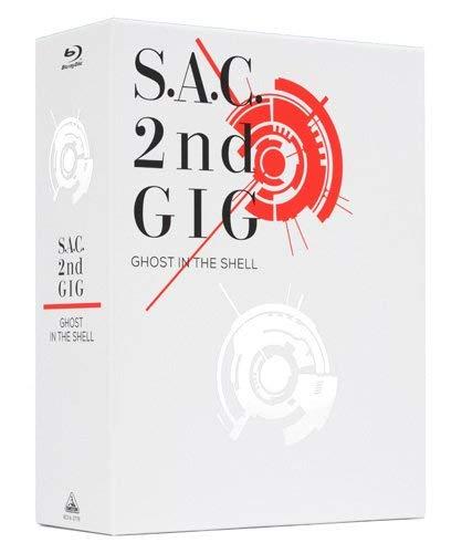 攻殻機動隊 S.A.C. 2nd GIG Blu-ray Disc BOX:SPECIAL EDITION (特装限定版)