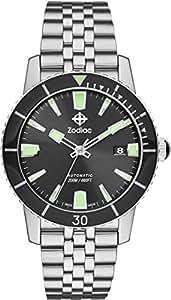 [ゾディアック] 腕時計 SUPER SEA WOLF 53 ZO9250 正規輸入品 シルバー