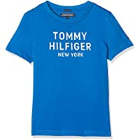 Tommy Hilfiger Boys' Organic Cotton Logo T-Shirt Highlights