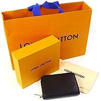 [セット品]正規化粧箱&正規紙袋付き ルイヴィトン LOUIS VUITTON コインケース 小銭入れ 財布 ジッピー・コイン パース エピ ノワール M60152 ミニ財布