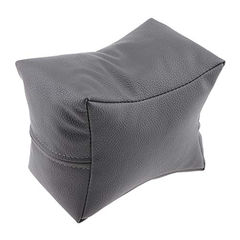 高度なによってが欲しいTachiuwa ネイルアート マニキュア 手枕 ハンドピロー 手ピロー ハンドクッション レストピロー 4色選べ - グレー