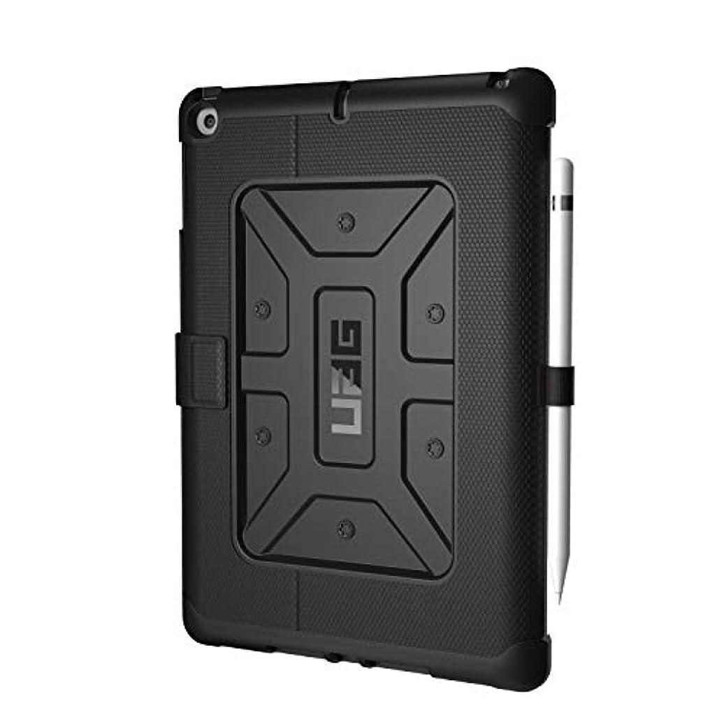 博物館出来事ラベルURBAN ARMOR GEAR iPad 第5/6世代(2017/2018)用 Metropolis Case ペンシルホルダー付 ブラック UAG-IPDF-BLKP 【日本正規代理店品】