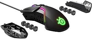【 国内正規品 】ゲーミング マウス SteelSeries Rival 600 デュアルセンサー 重量・重心カスタマイズ機能 32ビットARM プロセッサー搭載 62433