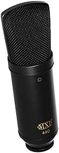 MXL 440 Multipurpose Large-Diaphragm Studio Condenser Microphone by MXL