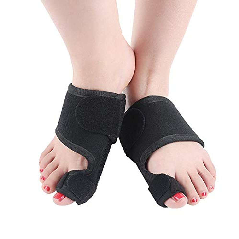 崩壊六月アテンダント男女兼用の外反母趾矯正 - 足の痛みの軽減、親指嚢胞の矯正(2pcs)