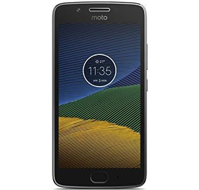 モトローラ SIM フリー スマートフォン  Moto G5 16GB ルナグレー 国内正規代理店品 PA610105JP