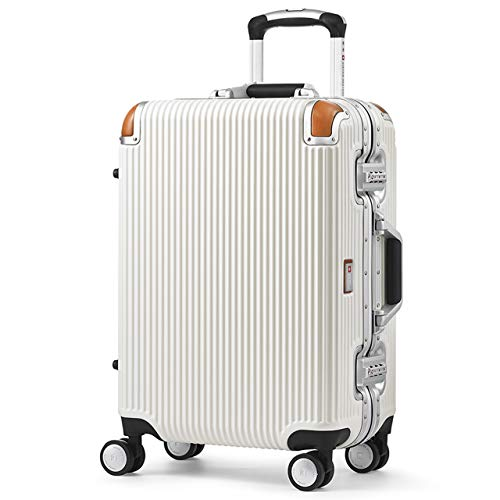 ab9f6b8f0e [スイスミリタリー] Premium プレミアム スーツケース Type C アルミフレームタイプ 天然皮革プロテクター