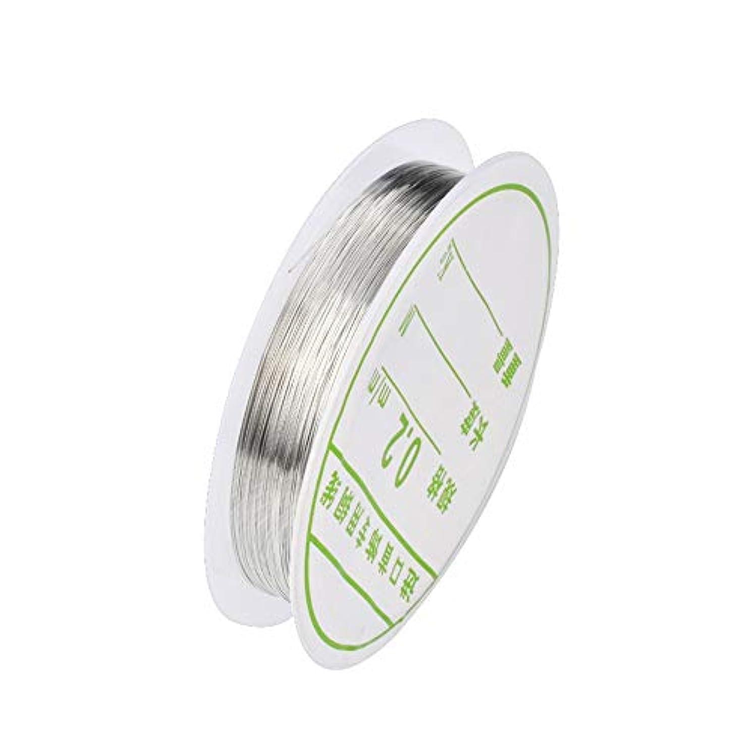 高音下位誓う1個ワイヤーネイルアートデコレーションチャームラインDIYデザイン3Dのヒントラインストーンジュエリーマニキュア用品,銀