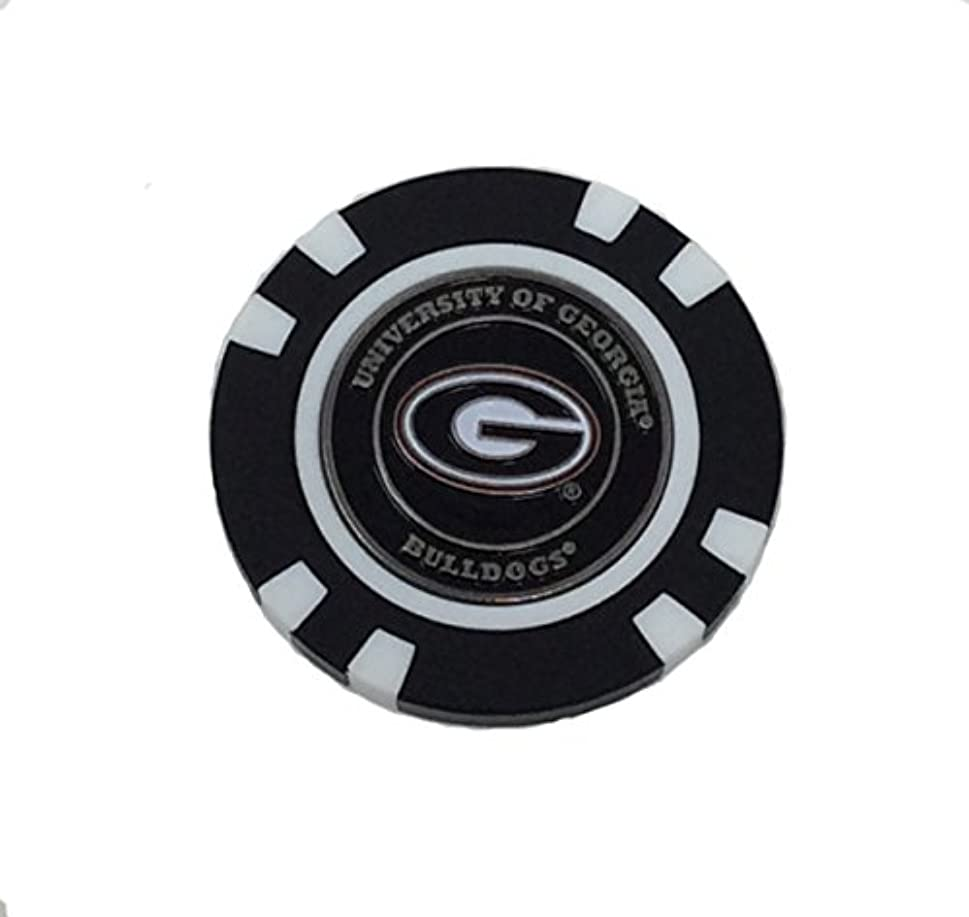 プラットフォーム効率バックグラウンドGeorgia Bulldogsゴルフチップwithマーカー – バルク