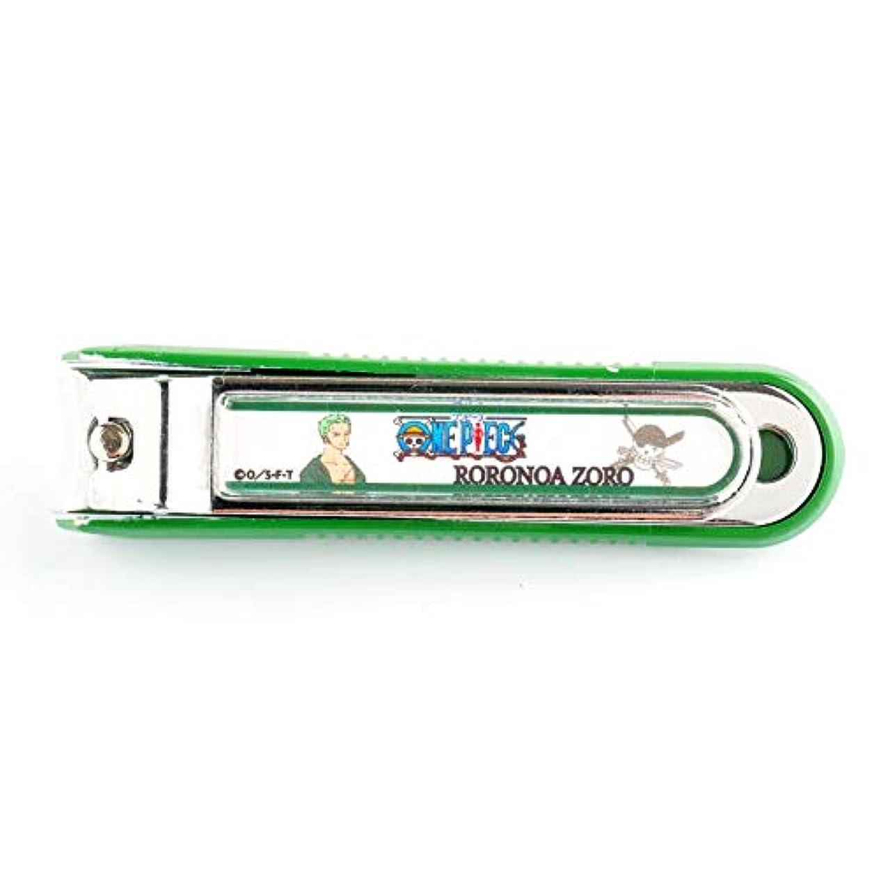 案件緑三十ニッケン刃物 デザイン小物 ゾロ 1.5×2×8cm ワンピース爪切り ON-850Z