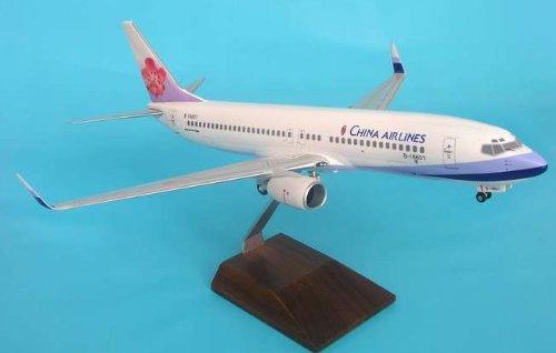 1: 100 スカイマークスSuprem China 航空 ボーイング 737-800 with Landing Gear and Wood Display Stand (並行輸入)