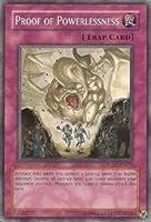 遊戯王カード 英語版 Proof of Powerlessness/無力の証明 RGBT-EN076N