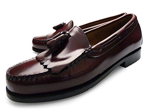 [ ジーエイチ バス ウィージャンズ ] G.H.BASS WEEJUNS [ レイトン ] LAYTON キルト タッセル ローファー 本革 レザー 紳士靴 [ バーガンディー 濃赤 ] BURGUNDY [ メンズ ] Mens カジュアル 靴 フォーマル size us9.0 [ サイズ ] 26.5㎝