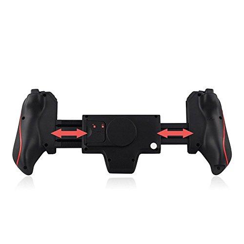 TOYENモバイルゲームパッド、伸縮式ワイヤレスゲームパッド IOS/ iPad/ Android適用