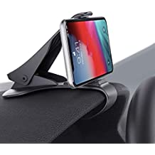 Phone Holder for Car, HUD Design Car Phone Mount ,Adjustable Dashboard Cell Phone Cradle (Update Black)