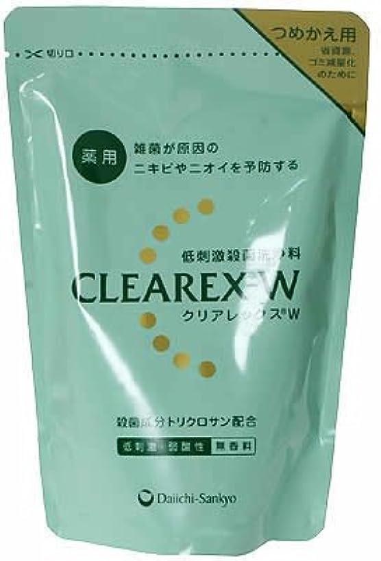 クマノミ分類タイルクリアレックス W 詰替用 380mL 【医薬部外品】