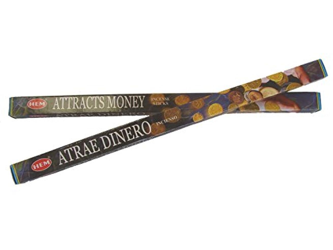 はねかけるバンドル満員4 Boxes of Attracts Money Incense Sticks