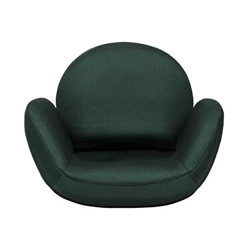 tegopo 座椅子 コンパクト メッシュタイプ 6段階調節リクライニング リクライニングチェアー 腰痛 骨盤 幅55cm*奥44cm*高41cm TZ001-M1 グリーン色