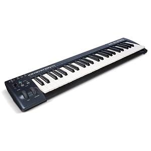 M-Audio USB MIDIキーボード 49鍵 ピアノ音源ソフト付属 Keystation 49