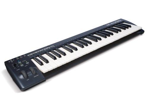 M-Audio USB MIDIキーボード 49鍵 ピアノ音源ソフト付属 K...