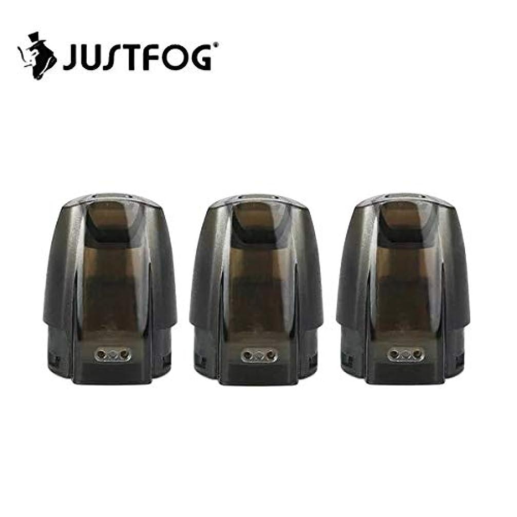 犬楕円形スカイJustfog Minifit Pod ミニフィット 交換ポッド ジャストフォグ 3pcs