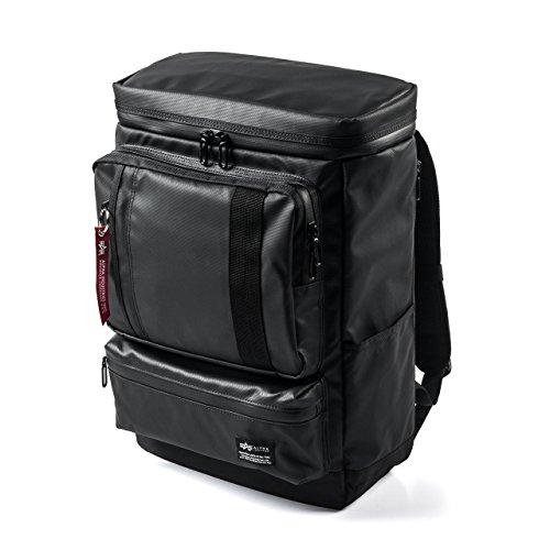 サンワダイレクト リュック ボックス型 耐水 ブラック 200-BAGBP012BK