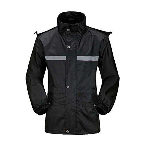 [해외]Fashion maker 레인 상하 레인 후드 고무 팔목 큰 사이즈가 남성 여성 방수 자전거 자전거 비옷 남녀 겸용/Fashion maker Rain suit upper and lower rain wear hooded rubber cuffs large size men`s ladies waterproof bicycle motorcycle rain ge...