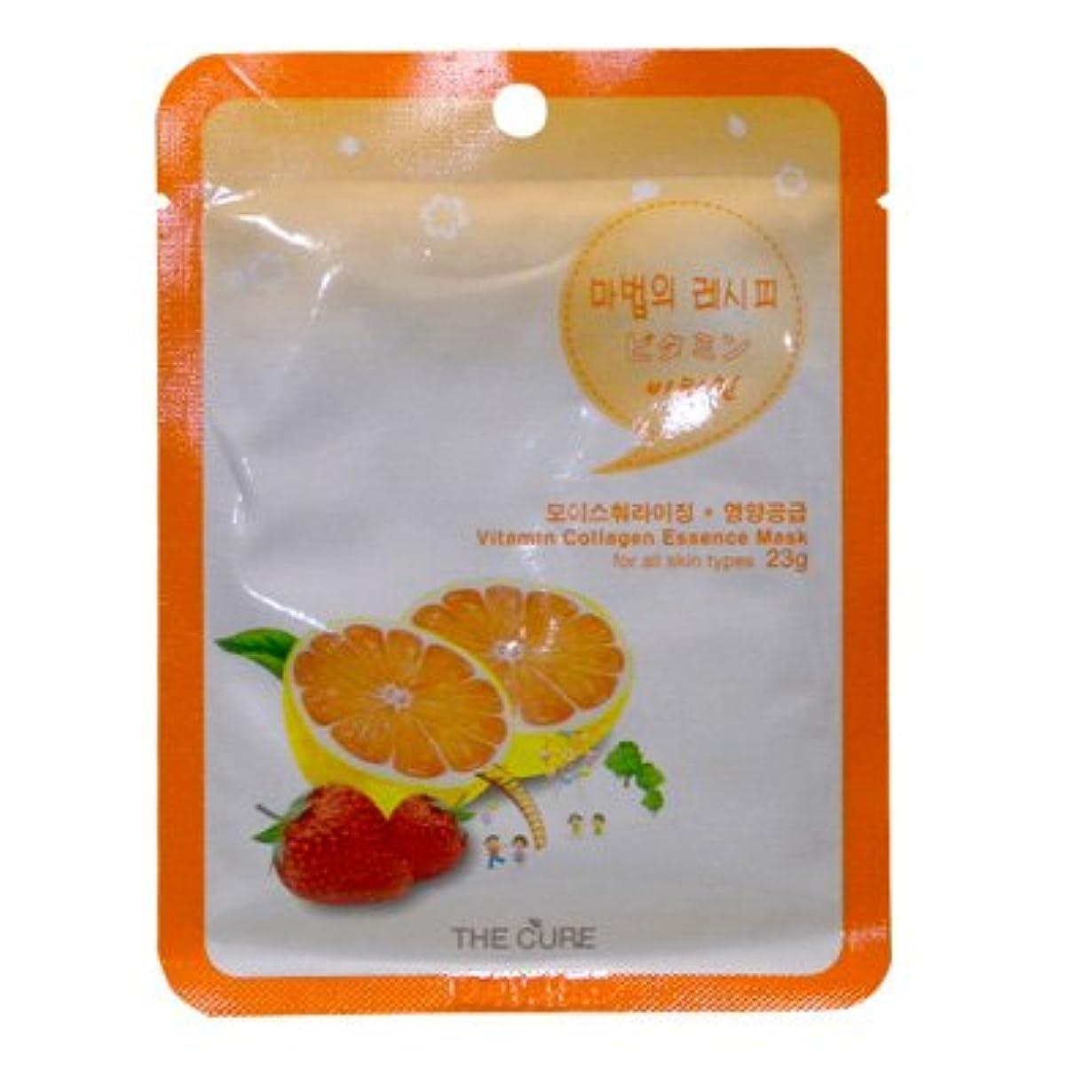 キャラバン苦い大陸CURE マスク シートパック ビタミン