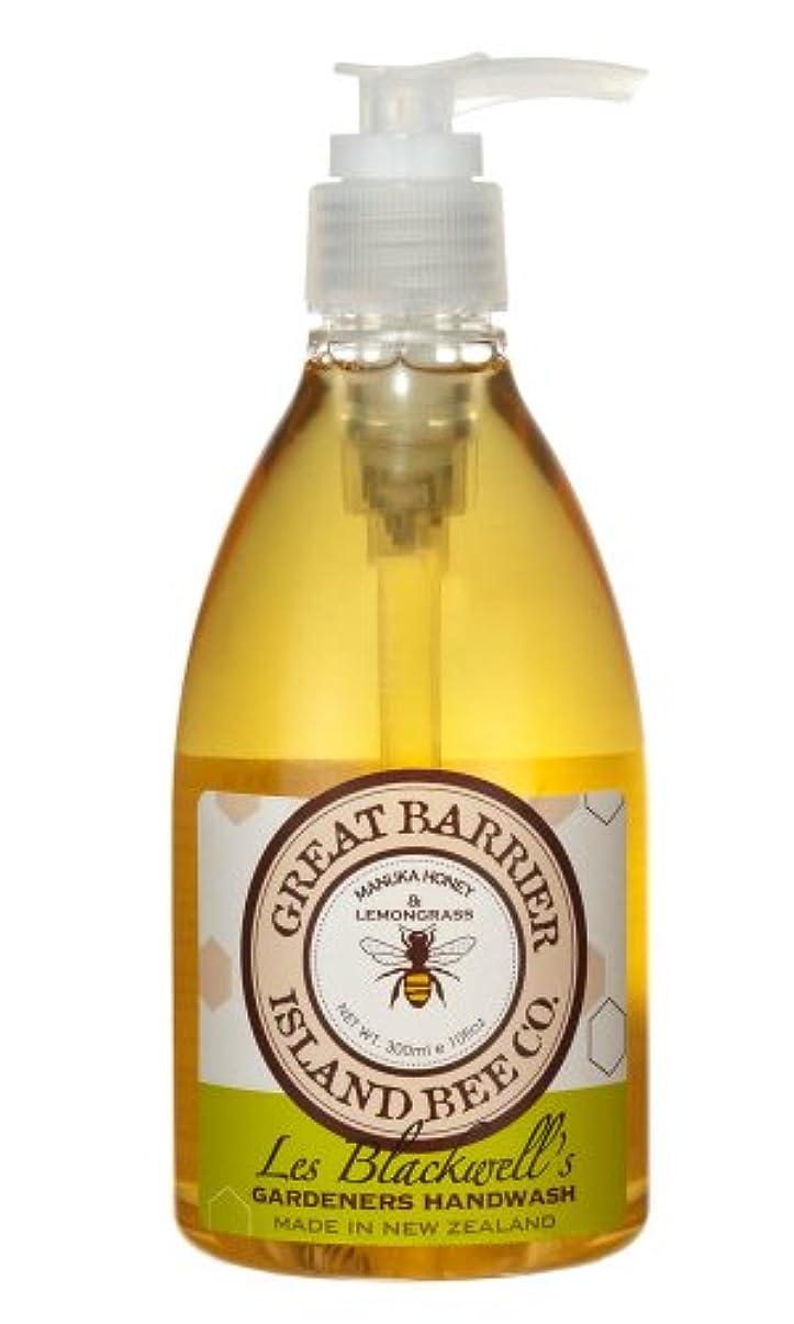 立ち寄る忘れられない法的GBI(グレートバリアアイランドビー) マヌカハニー ハンドウォッシュ レモングラス  300ml