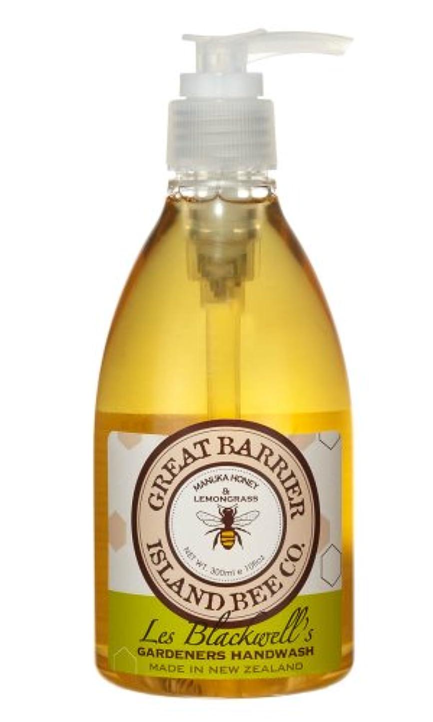 臭い一時解雇するキャンバスGBI(グレートバリアアイランドビー) マヌカハニー ハンドウォッシュ レモングラス  300ml