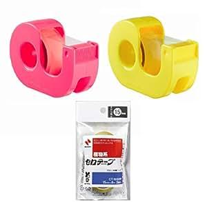 ニチバン セロテープ 小巻カッターつき2個 交換テープ2巻付 CT15DRYP-S2P