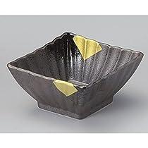 ボウル[ 5.63X 11.4X 2.17インチ] tga07712–436Iga Aya Konスモールボウルブラックダイヤモンドボウル日本従来ブランド