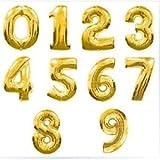 巨大数字!! 超 ビッグ 風船 数字 ナンバー 飾り 誕生日 ハッピーバースデー イベント パーティー アニバーサリー コンサート 結婚式 二次会 スポーツ 応援 (2)