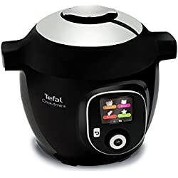 Tefal Cook4me+ CY8518 Black Smart Multi Cooker Pressure Cooker with 150 Built in Pre Programmed Recipes