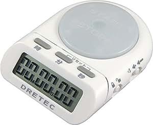 ドリテック デジタルタイマー タイムアップ ホワイト T-186WT