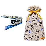 プラレール クルーズトレインDXシリーズ TRAIN SUITE 四季島 + インディゴ タカラトミー プラレール ラッピング袋 ギフトバッグL ベージュ TA080