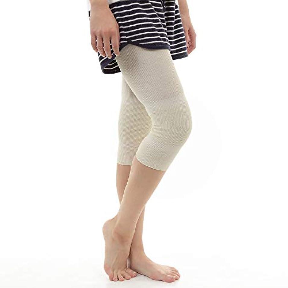 機構有害なトレーニングYUZO シルク レギンス 足元の冷え症対策 冷えとり 肌に優しい