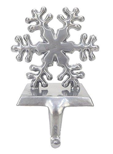 『Silver Snowflake Stocking Hanger』の1枚目の画像