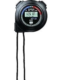 カシオ ストップウォッチ HS-3C-8AJH ブラック 1/100秒計測 10時間計 電池寿命約3年 HS-3C-8AJH