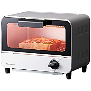 コイズミ オーブントースター 650W ホワイト KOS-0670/W モノクローム [Amazon限定ブランド]