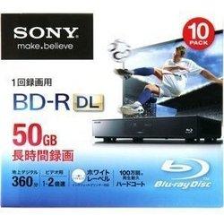 SONY 録画用ブルーレイディスクBD-R DL 1-2倍速...