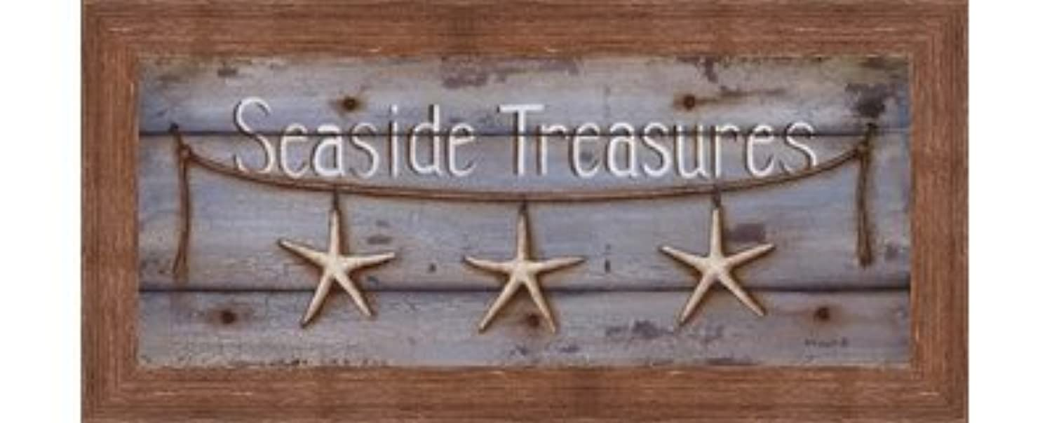 Seaside Treasures by Kim Lewis – 20 x 8インチ – アートプリントポスター LE_254361-F10570-20x8