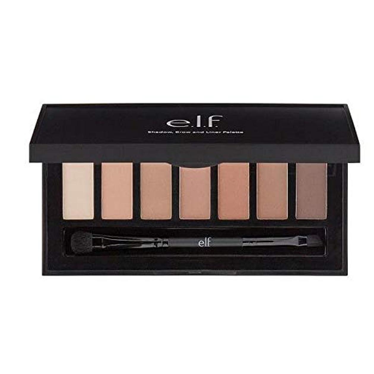 自己尊重特徴流行[Elf ] E.L.F.Matteシャドウ、眉&ライナーパレット - e.l.f.Matte Shadow, Brow & Liner Palette [並行輸入品]