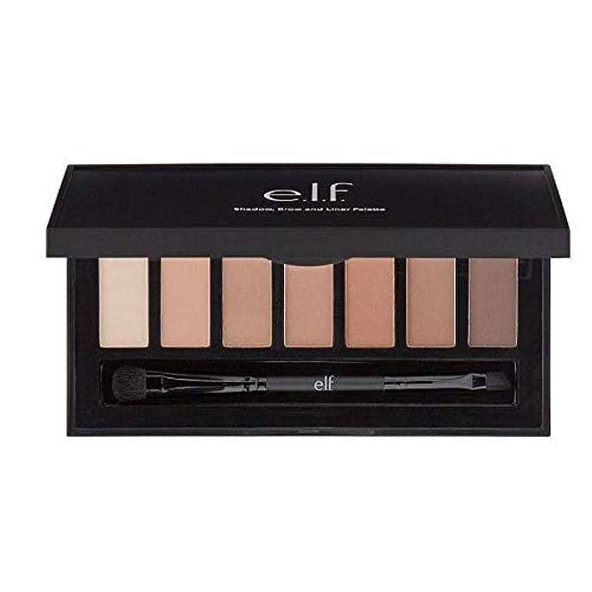 適用済み簡略化するクロール[Elf ] E.L.F.Matteシャドウ、眉&ライナーパレット - e.l.f.Matte Shadow, Brow & Liner Palette [並行輸入品]
