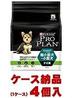 【1ケース納品】 ネスレピュリナペットケア プロプラン ドッグ 超小型犬・小型犬 子犬用 チキン 800g ×4個入
