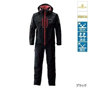シマノ DS-XTアドバンスライトスーツ RA-024N ブラック M