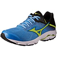 Mizuno Australia Men's Wave Inspire 15 Running Shoes, Azure Blue/Sharp Green/Black, 11.5 US
