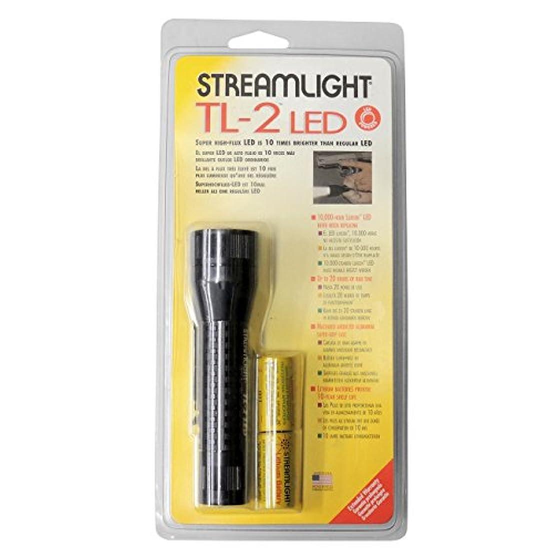 支配的ラフ睡眠メジャーストリームライト STREAMLIGHT 88105 TASKタクティカルライト TL-2LED ブラック