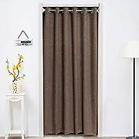 パティオのドアのカーテン ブラインド, 引き戸のカーテン, ホーム デコレーション プルの杖の調整 エネルギー熱絶縁-B 200x190cm(79x75inch)