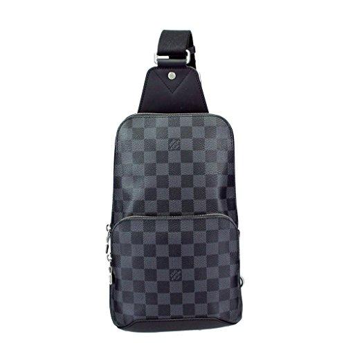 ルイヴィトン バッグ N41719 ダミエ・グラフィット アヴェニュー・スリングバッグ [並行輸入品]